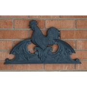Hickory Manor House Outdoor Rooster Overdoor Essex Lead Wall D cor
