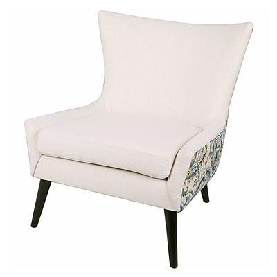 Ivy Bronx Framboise Paisley Lounge Chair