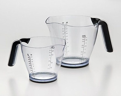 Cook Pro 2-Piece Plastic Measuring Cup Set WYF078281087124