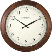 Darby Home Co 16'' Round Wooden Wall Clock