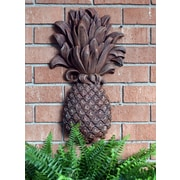 Hickory Manor House Outdoor Pineapple Plaque Brick Wall D cor