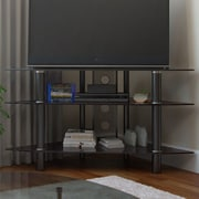 Ebern Designs Nika TV Stand; Black