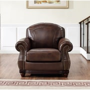 Darby Home Co Connersville Leather Club Chair