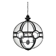 Darby Home Co Fanning Sphere 3-Light Globe Pendant