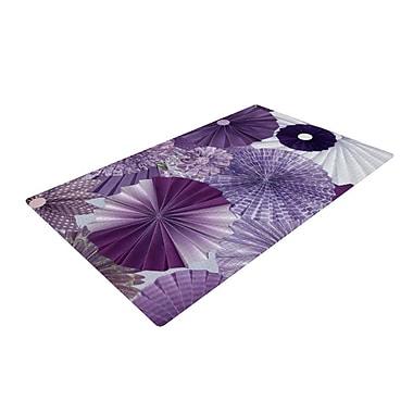 East Urban Home Heidi Jennings Lavender Wishes Purple Area Rug; 2' x 3'