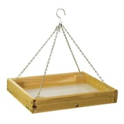 Stovall Small Screen Hanging Tray Bird Feeder