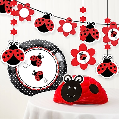 The Holiday Aisle Ladybug Fancy Birthday Party Decoration Kit