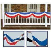 The Holiday Aisle Patriotic Hanging Red/White/Blue Banner