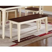 August Grove Jeanne Wood Dining Bench