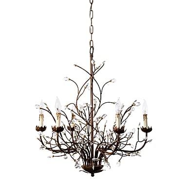 Astoria Grand Riccardo 6-Light LED Candle-Style Chandelier
