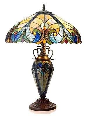 Astoria Grand Drumavoley 24.75'' Tiffany Table Lamp