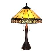 Astoria Grand Roksanda Yellow 23'' Table Lamp