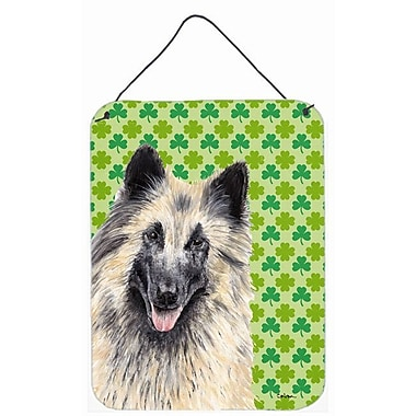East Urban Home St. Patrick's Day Shamrock Print on Plaque; Belgian Tervuren