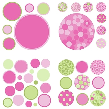 WallPops! 42 Piece Gone Dotty MiniPops Wall Decal