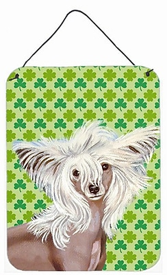 East Urban Home St. Patrick's Day Shamrock Print on Plaque