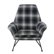 Union Rustic Bryant Plaid Arm Chair