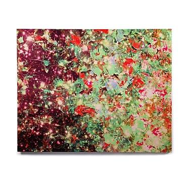 East Urban Home 'Mistletoe Nebula' Graphic Art Print on Wood; 16'' H x 20'' W x 1'' D
