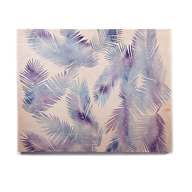 East Urban Home Digital 'Tropic Breeze' Graphic Art Print on Wood; 20'' H x 24'' W x 1'' D