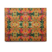 East Urban Home 'Tropical Floral' Graphic Art Print on Wood
