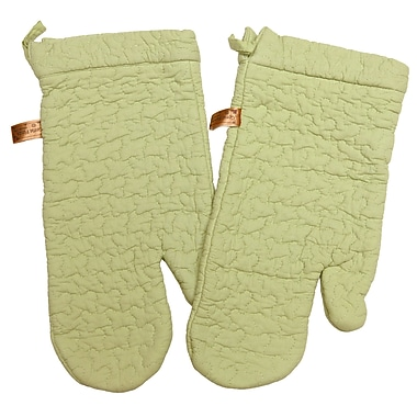 Great Finds Oven Mitt (Set of 2); Spearmint