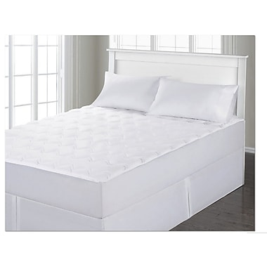 Anew Edit Velvet Touch Classic Polyester Mattress Pad; Queen
