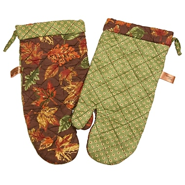 Great Finds Autumn Oven Mitt (Set of 2)