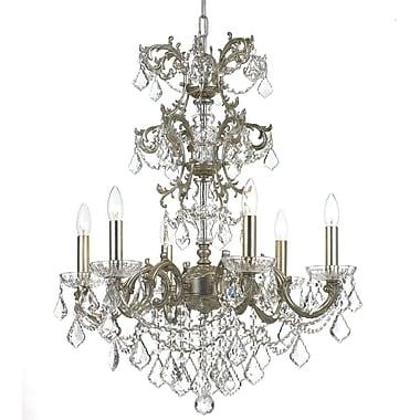 Astoria Grand Virginie 6-Light Candle-Style Chandelier