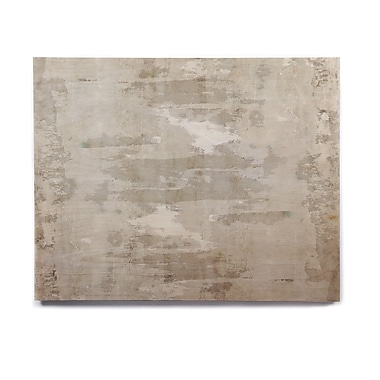 East Urban Home 'Effortless' Graphic Art Print on Wood; 11'' H x 14'' W x 1'' D
