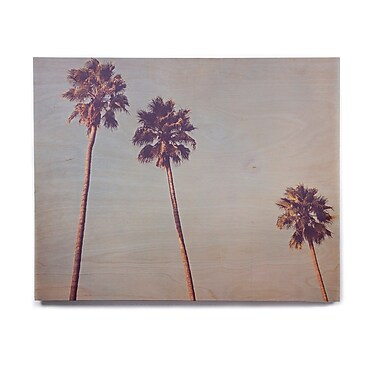 East Urban Home 'Sunshine and Warmth' Photographic Print on Wood; 16'' H x 20'' W x 1'' D