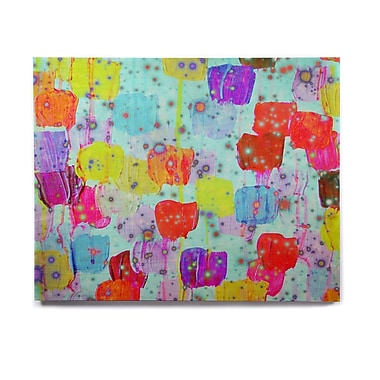 East Urban Home 'Speckle Me Dotty' Graphic Art Print on Wood; 20'' H x 24'' W x 1'' D