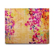 East Urban Home 'Wall Flowers' Graphic Art Print on Wood