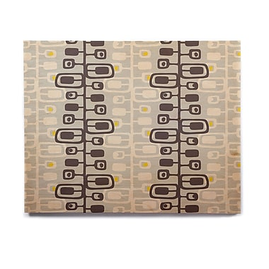 East Urban Home 'Carnaby' Graphic Art Print on Wood; 8'' H x 10'' W x 1'' D