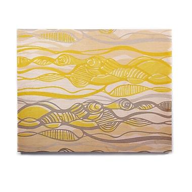 East Urban Home 'Kalahari' Graphic Art Print on Wood; 11'' H x 14'' W x 1'' D