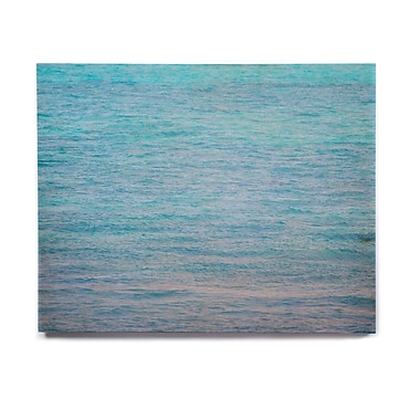 East Urban Home Ocean Water 'South Pacific II' Graphic Art Print on Wood