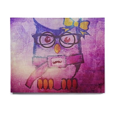 East Urban Home 'Showly' Graphic Art Print on Wood; 20'' H x 24'' W x 1'' D