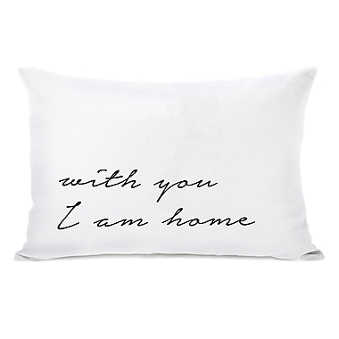 Ivy Bronx Madera w/ You I Am Home Lumbar Pillow