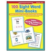 Scholastic 100 Sight Word Mini-books Book