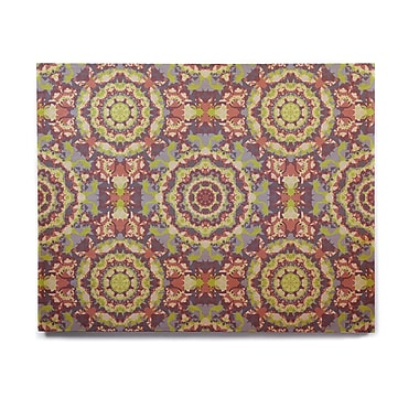 East Urban Home 'Plum Lace' Graphic Art Print on Wood; 11'' H x 14'' W x 1'' D