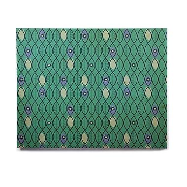 East Urban Home 'Suncoast Emerald' Graphic Art Print on Wood; 8'' H x 10'' W x 1'' D