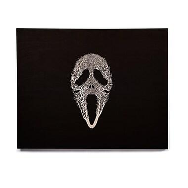 East Urban Home 'The Scream Tree' Graphic Art Print on Wood; 16'' H x 20'' W x 1'' D