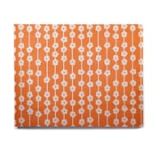 East Urban Home Tangerine 'Orange You Cute' Graphic Art Print on Wood