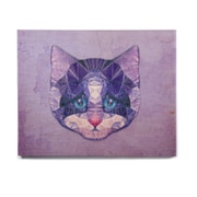 East Urban Home Cat 'Cute Kitten' Graphic Art Print on Wood