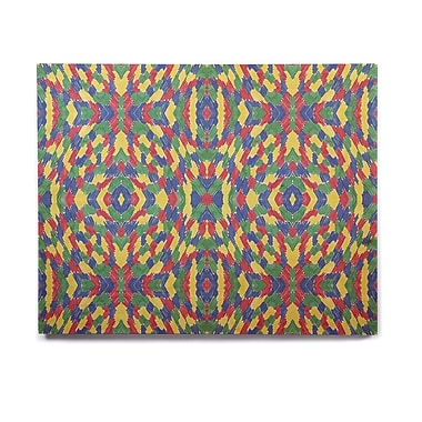 East Urban Home 'Energy Abstract' Graphic Art Print on Wood