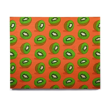 East Urban Home 'Kiwifruit' Graphic Art Print on Wood; 20'' H x 24'' W x 1'' D