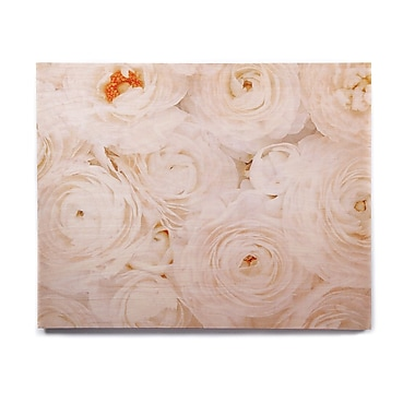 East Urban Home Rose 'Blessed' Graphic Art Print on Wood