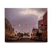 East Urban Home Holiday 'Venice Christmas' Photographic Print on Wood; 8'' H x 10'' W x 1'' D