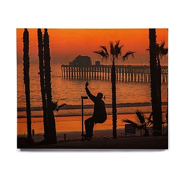 East Urban Home 'Endless Summer' Photographic Print on Wood; 11'' H x 14'' W x 1'' D
