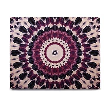 East Urban Home Geometric 'Batik Pattern' Graphic Art Print on Wood