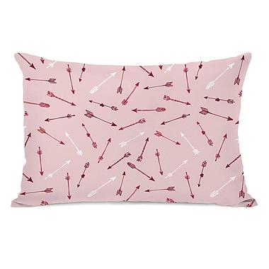 Ivy Bronx Yosemite Arrow Pattern Lumbar Pillow