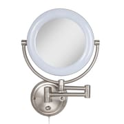 Darby Home Co Lockway Metal Surround Light Makeup Wall Mirrorr